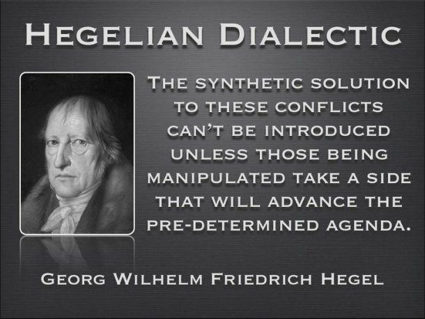 hegelian-dialectic trump vs hillary (s) elected